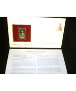 1987 Wildlife of Our Fifty States 22kt Gold plated replica Stamp Canada ... - $8.00