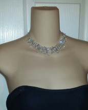 Australian Crystal Princess Necklace Choker Bridal Magazine Featured!!! - $29.99