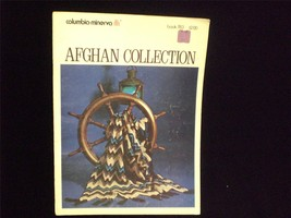 Columbia-Minerva Afghan Collection Pattern Book Printed 1974 - $8.00