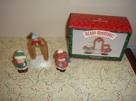 Hallmark Merry Miniatures Bashful Mistletoe - $9.99