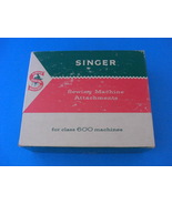 Vintage Singer Class 600 Sewing Machine Attachments Box  - $6.95
