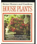 Better Homes and Gardens, House Plants, Informational Hardcover Book  1973 - $4.00