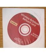 Belkin Wireless Notebook Netword Card CardBus Driver CD P74326 F5D6020 - $3.95