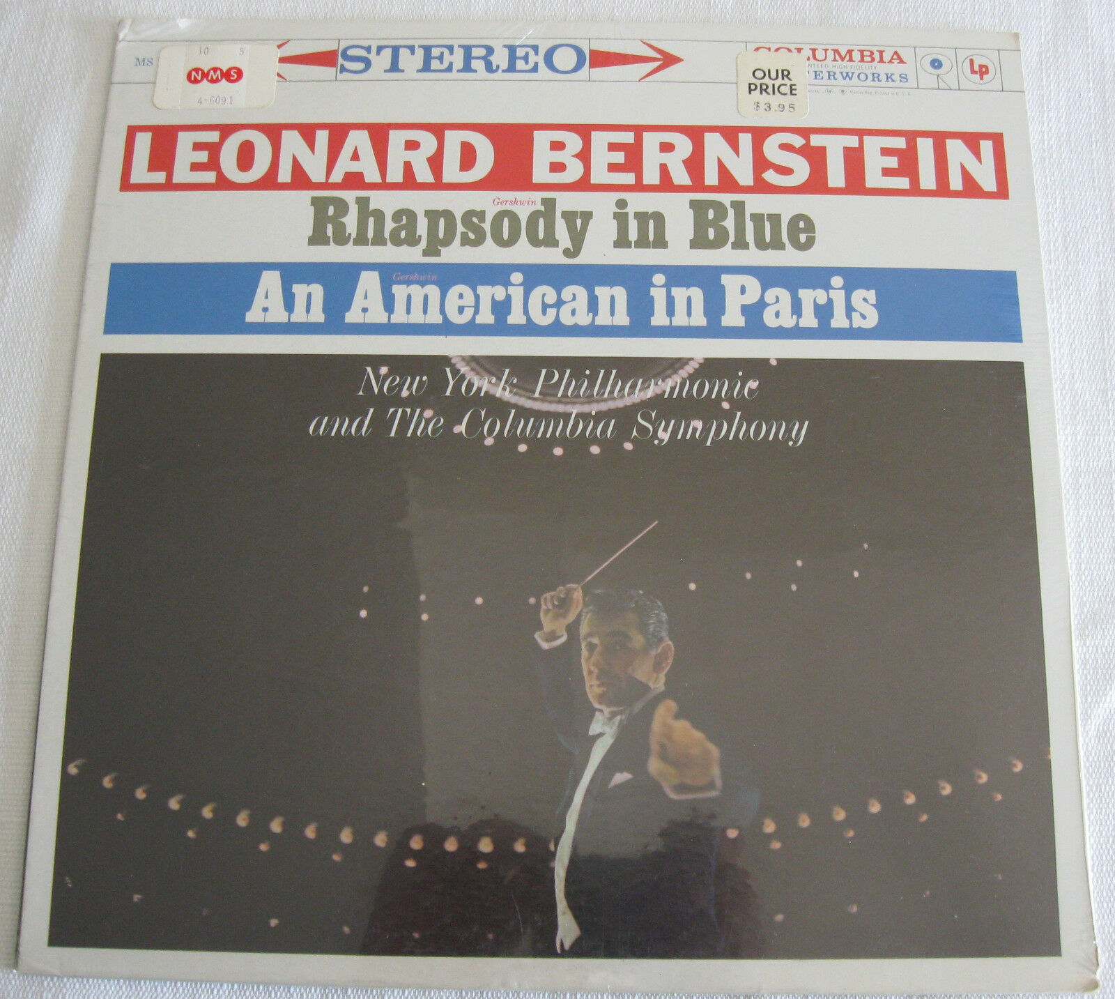 Primary image for Leonard Bernstein Rhapsody In Blue Gershwin Columbia MS 6091 Stereo SEALED LP
