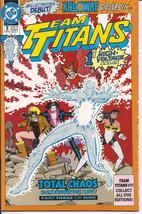 DC Team Titans #1 All Five Covers Total Chaos Terra Killowat Mirage Nigh... - $9.95