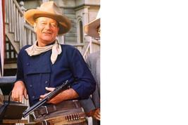 Man Who Shot Liberty Valance John Wayne 8X10 Color Movie Memorabilia Photo - $4.99