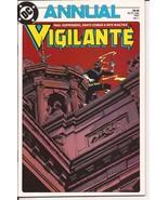 DC Vigilante Annual #1 Guilty Until Proven Action Adventure  - $1.95