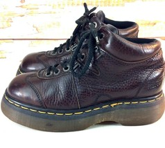 Vintage Dr Martens Boots Womens Size 8 M Airwair 8547 Brown Leather England - €49,07 EUR