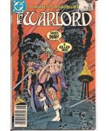 DC The Warlord Nightmare Prelude Sword & Sorcery Action Adventure - $1.00