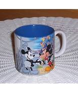 Disney Mickey Mouse 60th Birthday 1988 Black-White Color Ceramic Coffee ... - $5.99