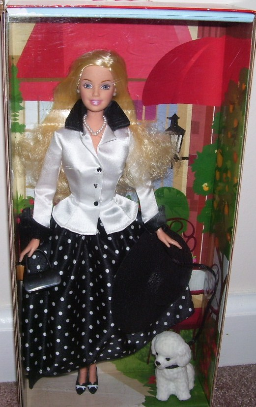 Barbie talk of the town doll nib