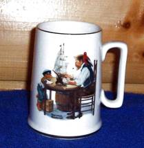 "Norman Rockwell Museum Grandpa ""For Good Boy"" Sailing Ship Coffee Mug    - $4.99"