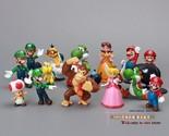 Super Mario Bros PVC Action figures Toys Dolls 18pcs/set