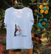 Yoga with an IG - Italian Greyhound Dog T- Shir... - $25.00
