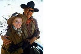 Rooster Cogburn Kate Hepburn John Wayne 8X10 Color Movie Memorabilia Photo - $4.99