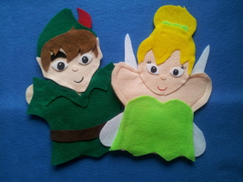Peter Pan and Tinker Bell Puppets - $11.99