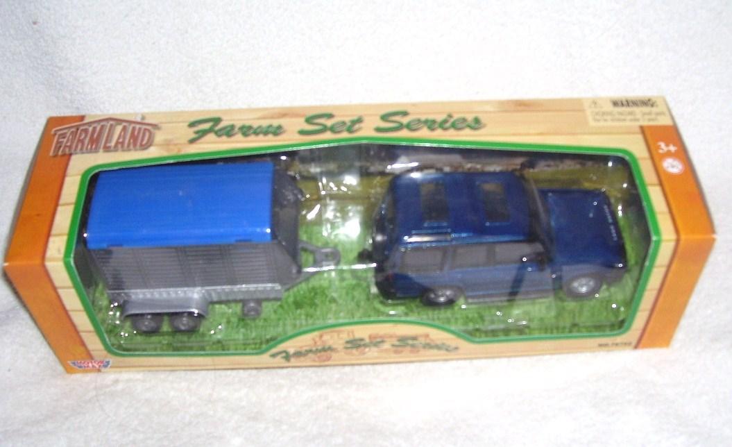 Motor max farm set horse box trailer