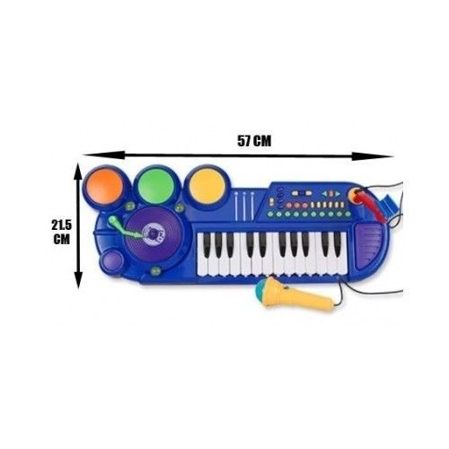 kids authority dj mixer sound synthesizer all in one piano keyboard drum set mic radios. Black Bedroom Furniture Sets. Home Design Ideas