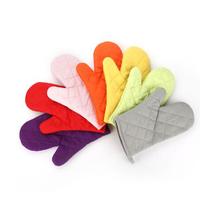 1 Pair Kitchen Heat-resistant Cotton Blend Oven Gloves BBQ Mittens Pot H... - $12.00