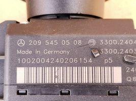 03 Mercedes W203 C240 ECU Engine Computer EIS Ignition FOB ISL Set A1121532979 image 8