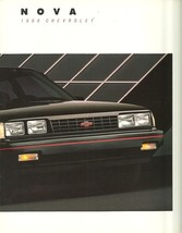 1988 Chevrolet NOVA sales brochure catalog US 88 Chevy CL - $7.00
