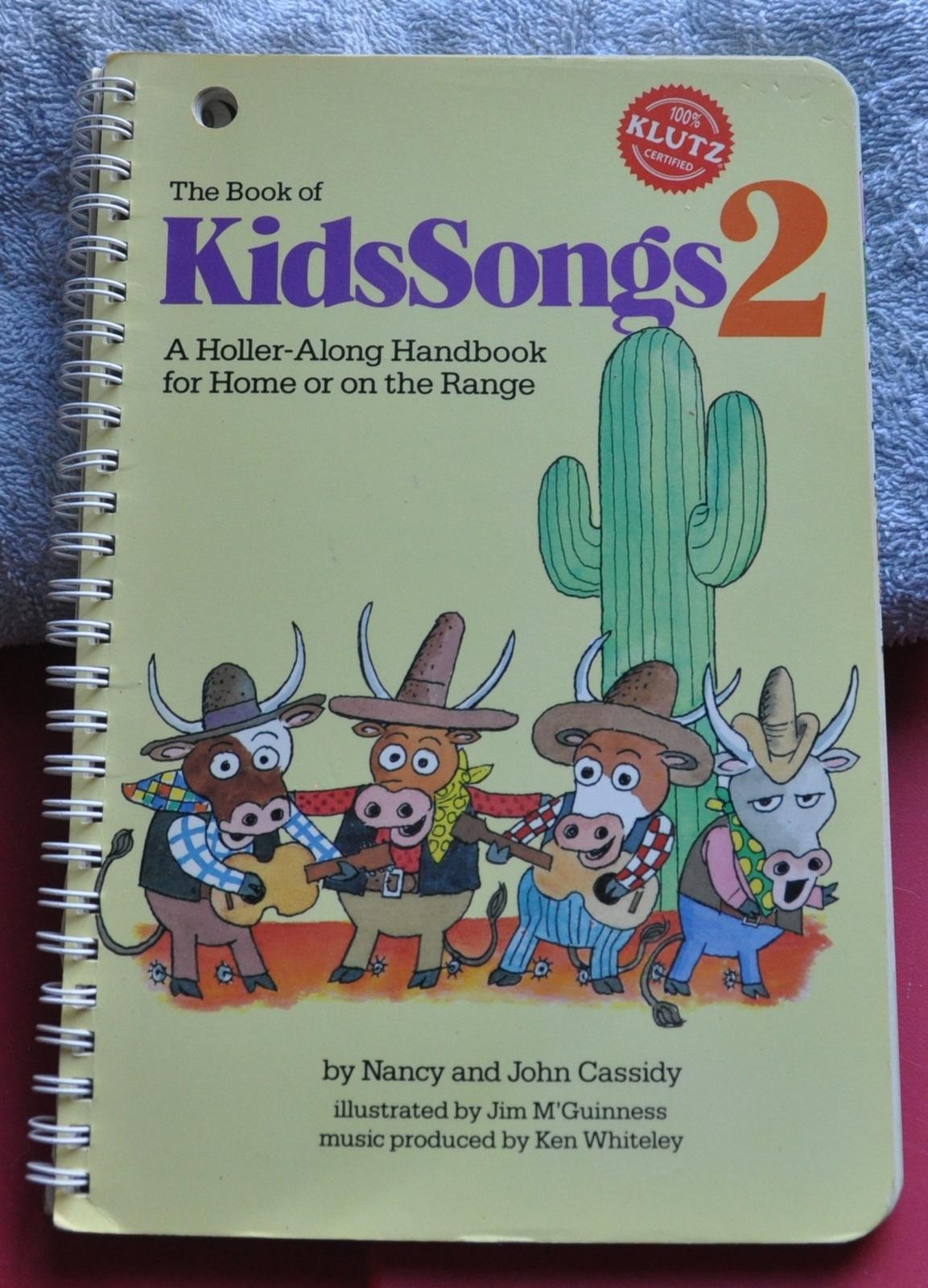 KLUTZ - Book of Kids Songs KidsSongs Fun and 50 similar items