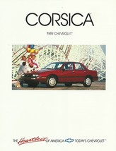 1989 Chevrolet CORSICA sales brochure catalog US 88 Chevy LT LTZ - $6.00