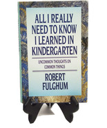 All I Really Need To Know I Learned in Kindergarten (82K4B1S3) - $14.99