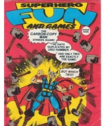 Superhero Fun and Games Marvel Comics UK Vintage Magazine Issue 6 Thor M... - $9.95
