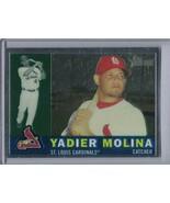 YADIER MOLINA 2009 Topps Heritage Chrome #1548/1960 #C64 E4506 - $3.15
