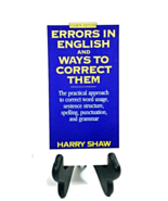 Errors in English & Ways to Correct Them by Harry Shaw (Paperback) (60K4... - $9.99