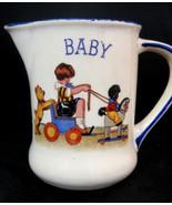 Creamer Pitcher Great Britain Cute Baby Kid Design Vintage - $32.95