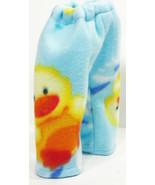 "(I20B35) Clothes American Handmade Blue Yellow Duck Pants 18"" Girl Boy D... - $9.99"