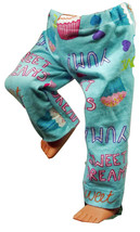 "(I20B35) Clothes American Handmade Blue Sweet Dreams Pants 18"" Girl Boy Doll - $9.99"
