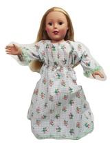"Clothes American Handmade Blue N Dress 18"" Girl Doll (20L3B30) - $9.99"