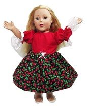 "Clothes American Handmade Red N Dress 18"" Inch ... - $9.99"