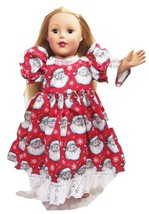 "Clothes American Handmade Red N Dress 18"" Inch ... - $29.99"