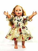 "Clothes American Handmade Red N Dress 18"" Inch Girl Doll (41B4B34_17) - $14.99"