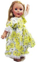 "American Handmade Yellow N Dress 18"" Inch Girl Doll (68B4B121) - $29.99"