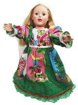 "Clothes American Handmade Tree Green N Dress 18"" Inch Girl Doll (4L3B30) - $29.99"