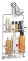 NEW Houseware Deluxe Chrome Shower Caddy Holder... - $35.39