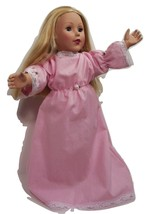 "Clothes American Handmade Pink N Dress 18"" Inch... - $9.99"