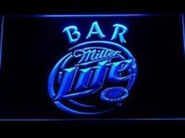 Miller Lite Beer Bar neon light sign  - $29.99