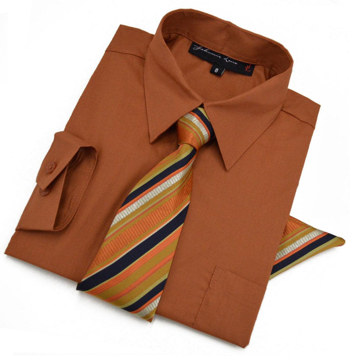 Johnnie Lene Boys Long Sleeve Dress Shirt And 50 Similar Items