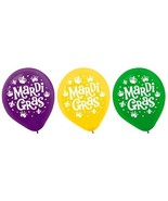 """Mardi Gras Helium Quality Latex Balloons 12"""" Assorted Colors 15 Ct - $3.79"""
