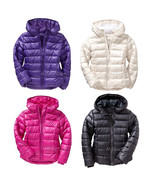 NWT Old Navy Girl Frost Free Warm Winter Puffer Jacket Cozy Water Resist... - $49.99