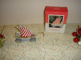 Hallmark 1988 Sailing! Sailing! Tin Ornament - $8.49
