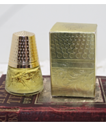 Vintage 1972 AVON Golden Thimble Charisma Cologne- 2 fl. oz. In Original... - $13.00