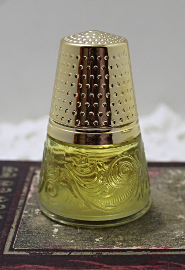 Vintage 1972 AVON Golden Thimble Charisma Cologne- 2 fl. oz. In Original Box