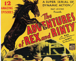 THE ADVENTURES OF REX AND RINTY, 12 CHAPTER SERIAL, 1935 - $19.99